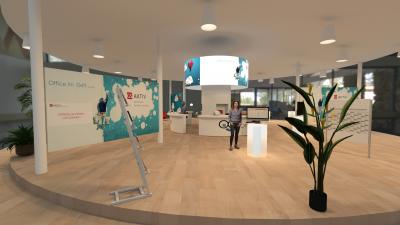 Office im Griff - Virtueller Messestand